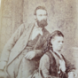 John Baker and his first wife Laura Hart