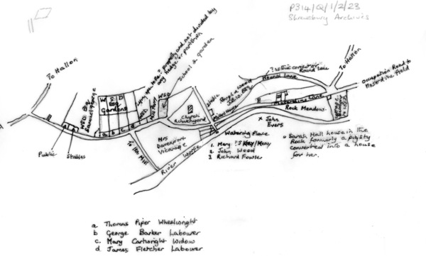 Worfield Map