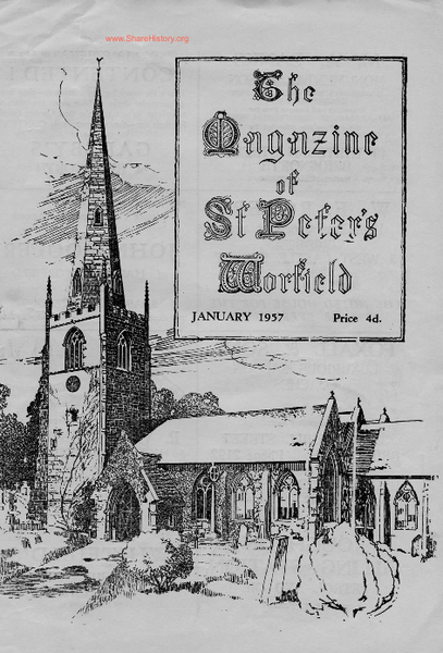 Worfield Parish Magazine 1957