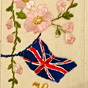 World War 1 Silk postcard