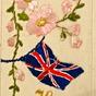World War 1 Silk postcard
