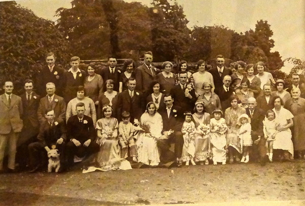 Wedding in Claverley