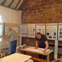 Preparations for Worfield History Exhibition