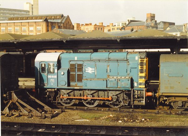 08908 in the old Parcels Depot at Leeds
