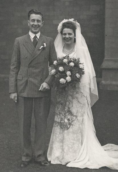 Jim & Audrey Cole - Wedding 1948