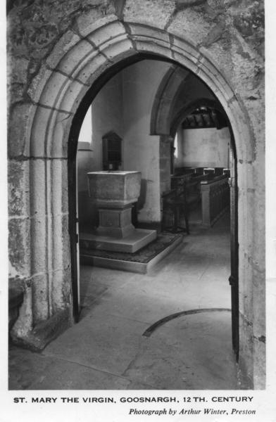 Interior of Goosnargh Parish Church, Lancashire