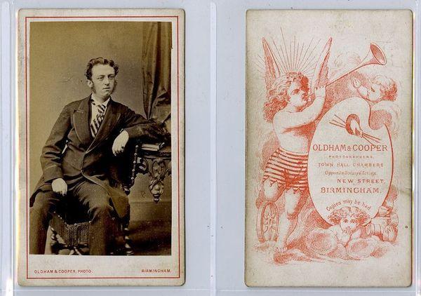 Oldham & Cooper, carte de visite