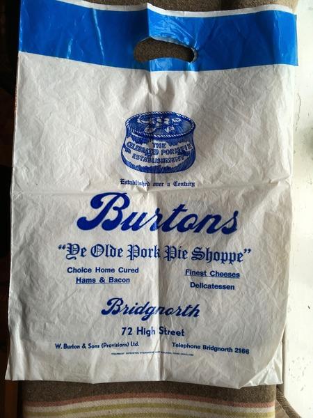 Burtons the Bridgnorth Pork Pie Makers