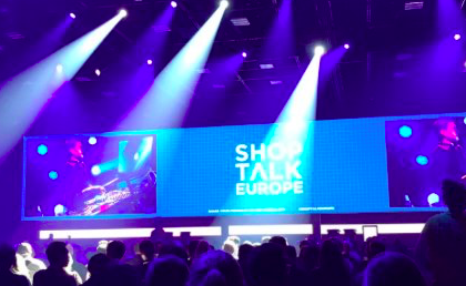 Shoptalk Europe stage