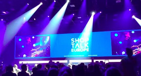 Shoptalk Europe stage