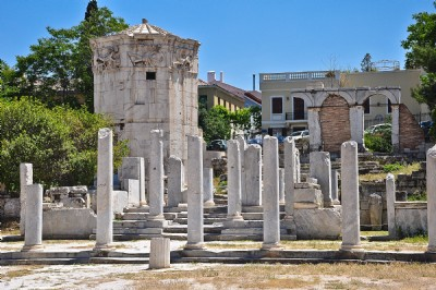 Athens Roman Forum Area