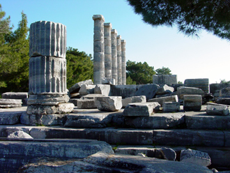 Priene Religious Buildings