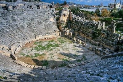 Myra Theater  11 Images