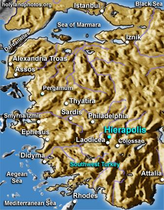 Hierapolis (4 folders)