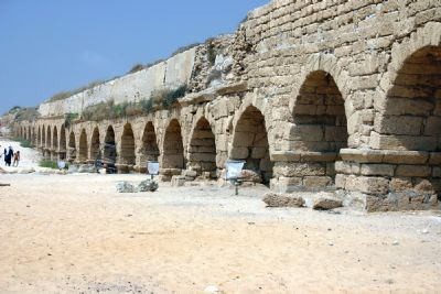 Caesarea Aqueduct, High Level