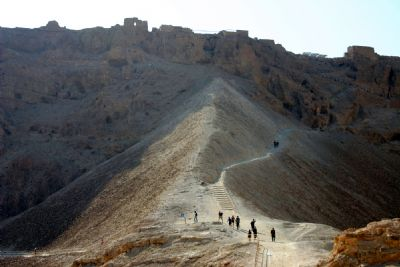 Masada Roman Ramp and Camps
