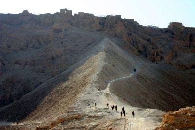 Masada Roman Ramp and Camps