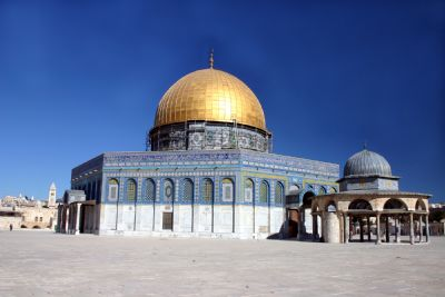 Dome of the Rock & Central