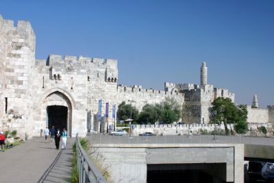 Citadel at Jaffa Gate (folder)