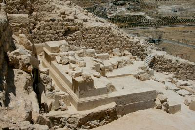 Herodium - Tomb and Theater