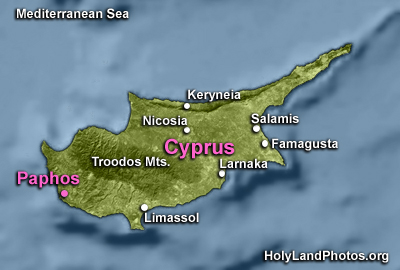 Paphos Introduction Map
