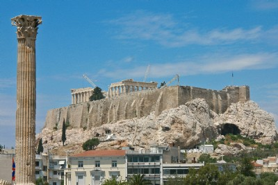 Views to Acropolis