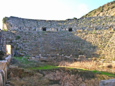 Perge: Stadium and Theater