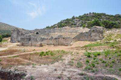 Patara Theater & Bouleuterion