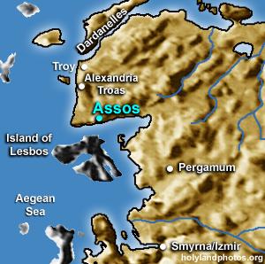 Assos: Citadel, Temple of Athena, Harbor