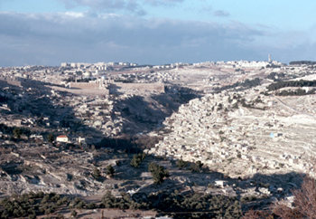 City of David, Views TO