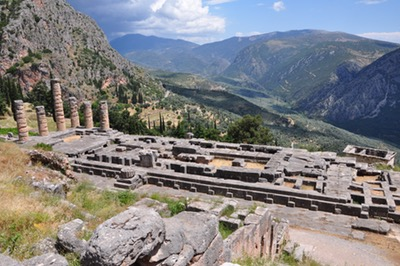 Delphi: Temple of Apollo