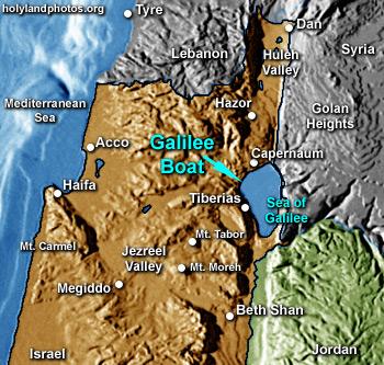 Galilee (Jesus) Boat