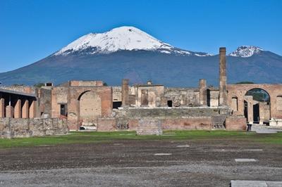 Pompeii The Forum Area
