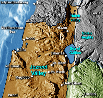 Jezreel Valley (5 folders)