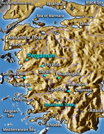 Pergamum: Acropolis