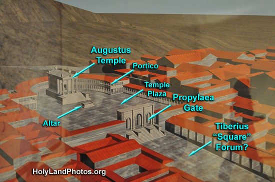 Pisidian Antioch Temple, Forum, Theater