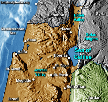Sea of Galilee 19 folders