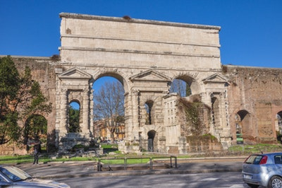 Rome: Porta Maggiore and Tomb of Baker