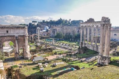 Roman Forum West