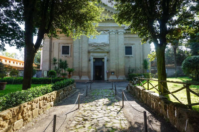 Tre Fontane Church