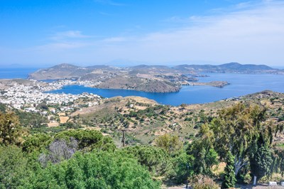 Patmos: Harbor/Skala