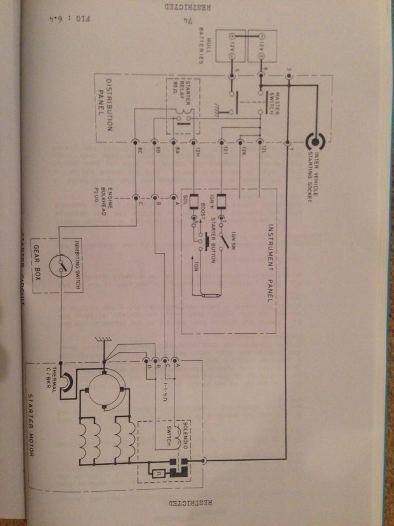 Cvrt Engine Electrics Wiring Diagram Lubrication Batteries Cvr Starter Motor Imageuploadedbytapatalk1411245758530018