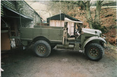 Morris Commercial CS8  ...the one from Dads Army Movie.
