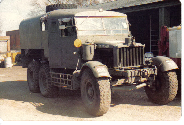 Scammell Pioner Gun Tractor. May 76.jpg