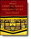 Book cover for 'Advanced Compiler Design & Implementation'