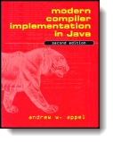 Book cover for 'Modern Compiler Implementation in C'