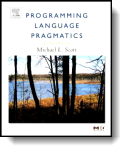 Book cover for 'Programming Language Pragmatics'