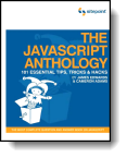 Book cover for 'The JavaScript Anthology'