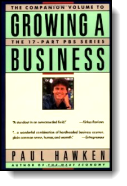 Book cover for 'Growing a Business'