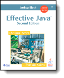 Book cover for 'Effective Java'